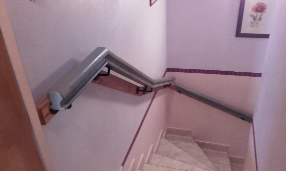 Rampe D Escalier Main Courante Cimaise Menuiserie Fagot