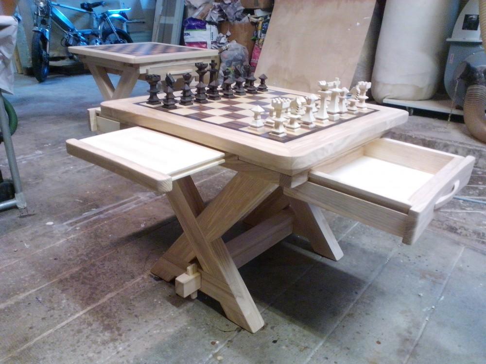 table basse meuble chiquier menuiserie fagot. Black Bedroom Furniture Sets. Home Design Ideas
