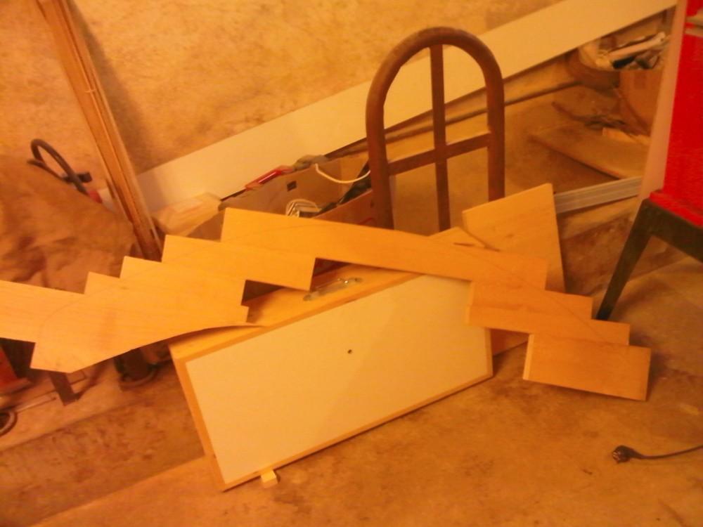 escalier habillage marche menuiserie fagot. Black Bedroom Furniture Sets. Home Design Ideas
